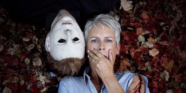 promo photo of Jamie with Michael Myers