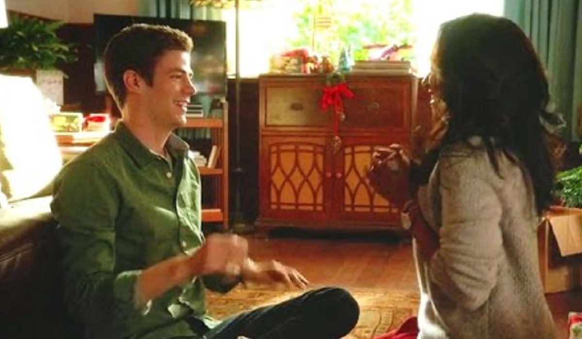 barry and iris the man in the yellow suit 1x09