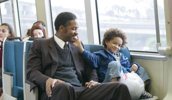 The Pursuit of Happyness Will Smith Jaden Smith train ride