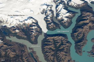 Argentina's Perito Moreno glacier on Feb. 21, 2012.