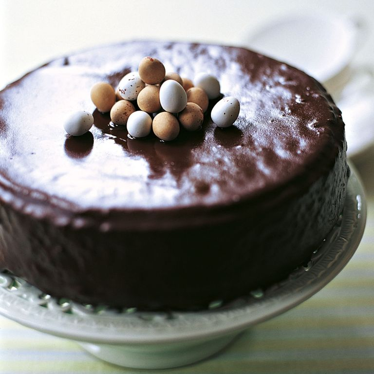 Rum and Raisin Chocolate Cake Recipe-chocolate recipes-recipe ideas-new recipes-woman and home
