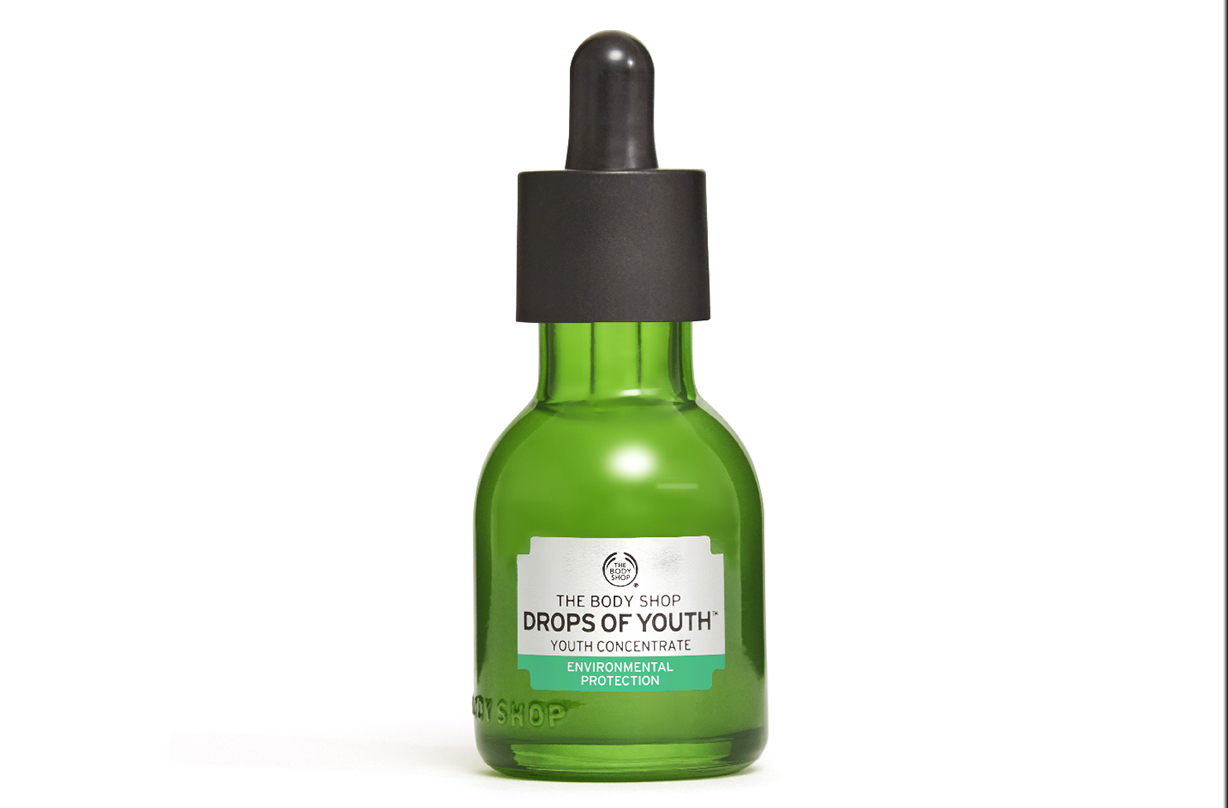 body shop drops youth concentrate reinforced formula