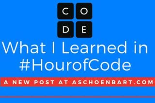 What I Learned in #HourofCode