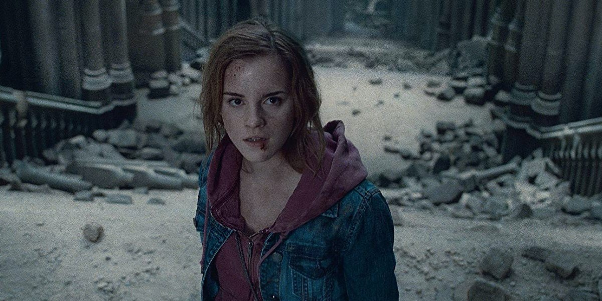 Emma Watson in Harry Potter and the Deathly Hallows, Part 2