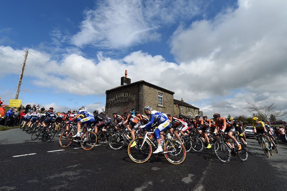 Holmefirth, Tour de Yorkshire stage three