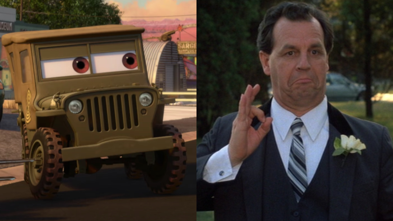 Sarge in Cars; Paul Dooley in Sixteen Candles