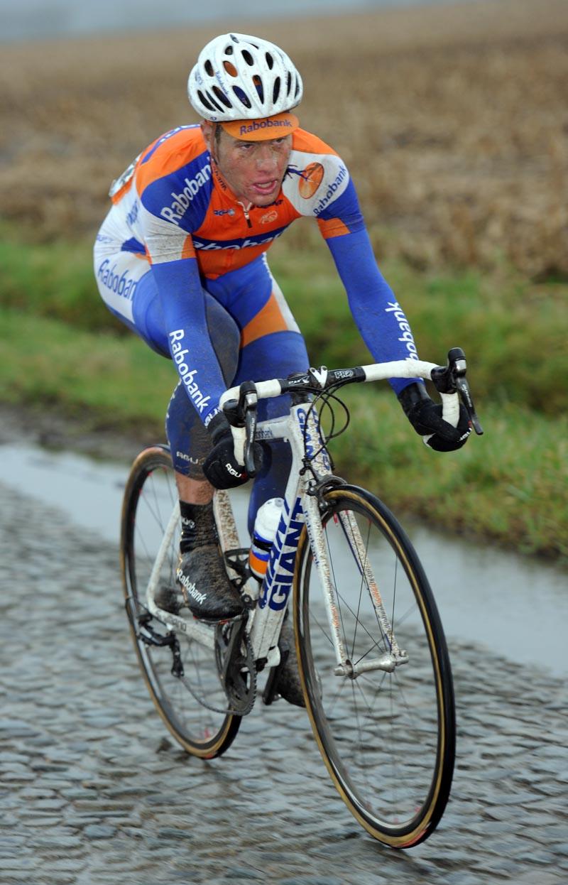 Sebastian Langeveld goes solo, Omloop Het Nieuwsblad 2011