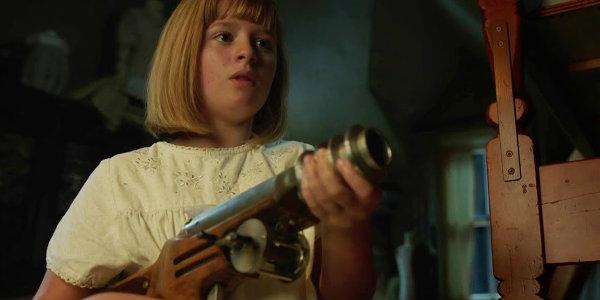 Annabelle creation linda lulu wilson toy gun scene
