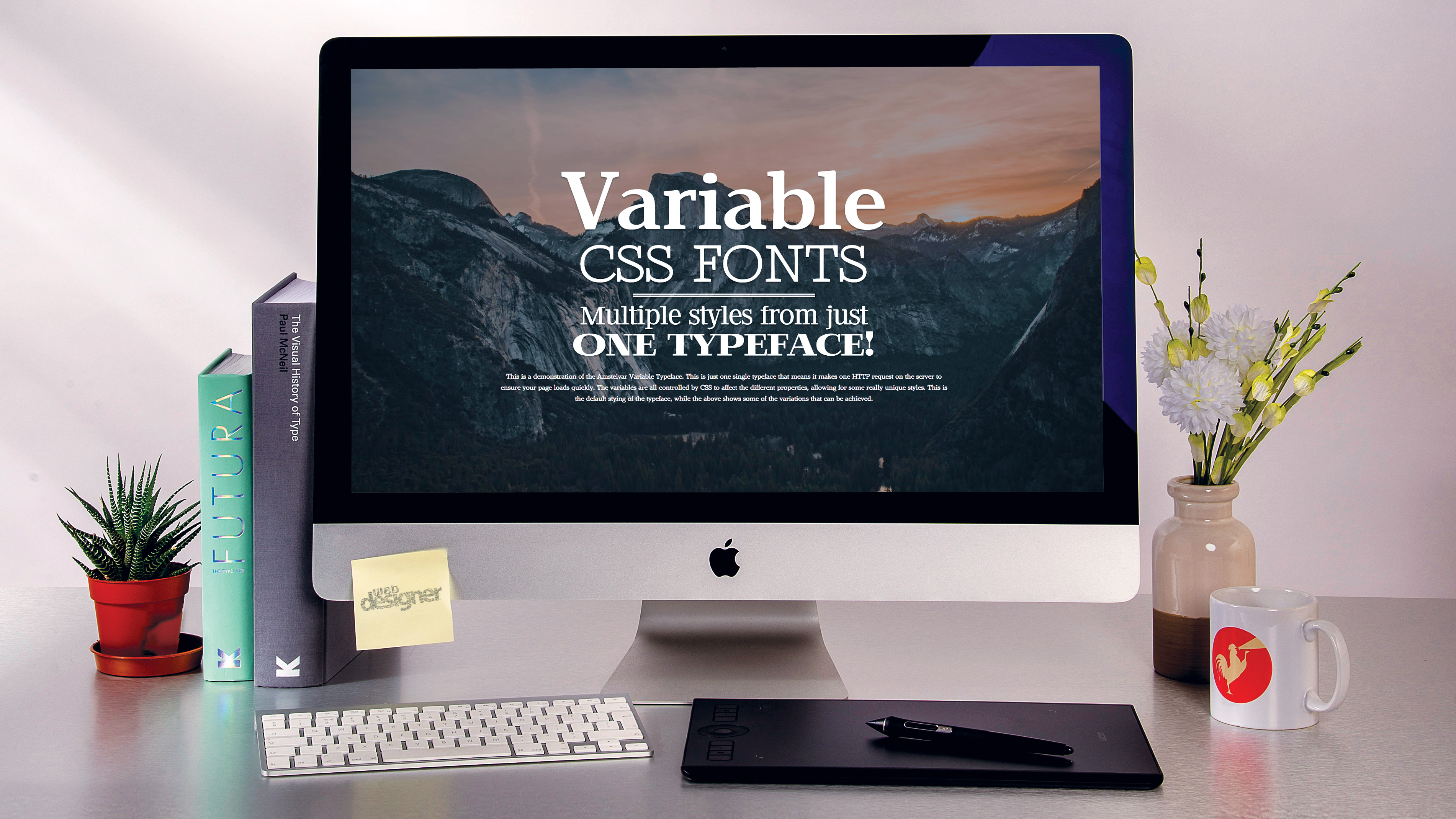 Get started with variable fonts in CSS | Creative Bloq