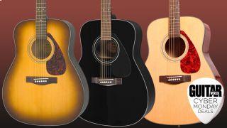 Cyber Monday guitar deals: Yamaha F335
