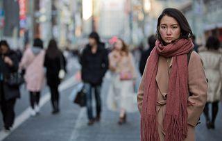 Japan's Secret Shame. Picture shows: Shiori Ito in Tokyo