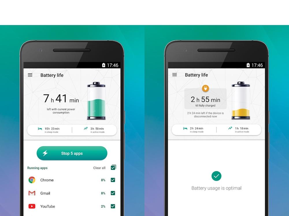 best battery apps: kaspersky battery