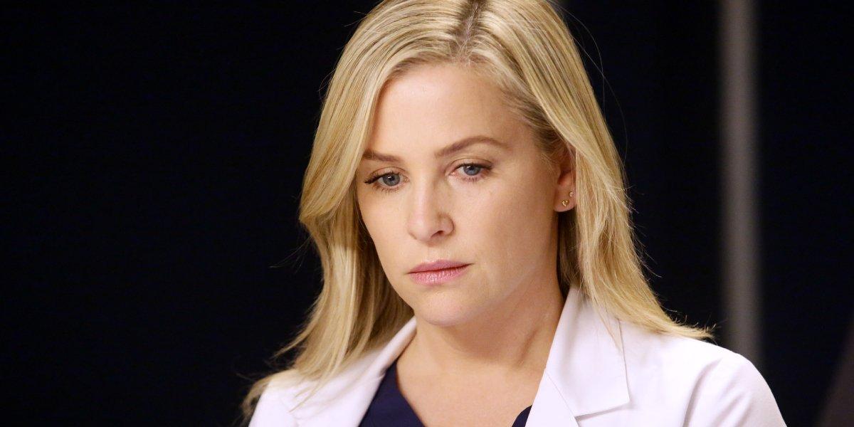 Jessica Capshaw on Grey's Anatomy