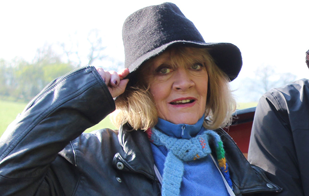 'I seem to bond with eccentric politicians!' Amanda Barrie on her latest adventure on board a barge