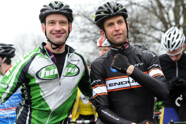 Oli Beckingsale and Paul Oldham, National Trophy, Derby 2013