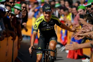 Crowd favourite Esteban Chaves has signed on for another two seasons at Mitchelton-Scott