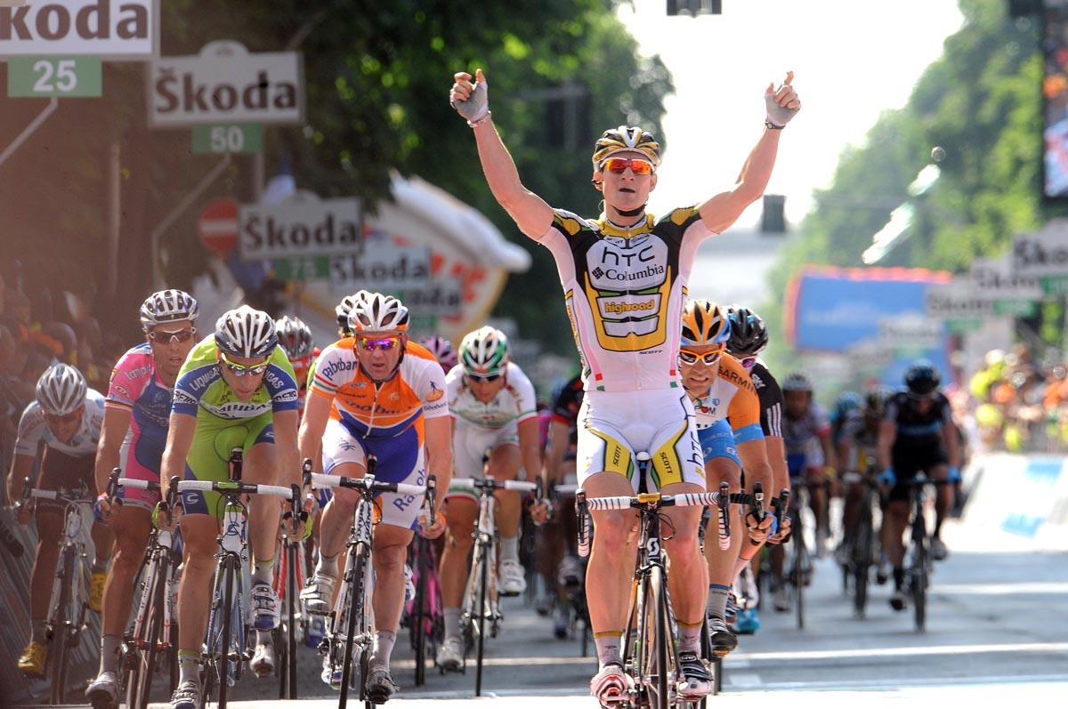 Andre Greipel, Giro d'Italia 2010, stage 18