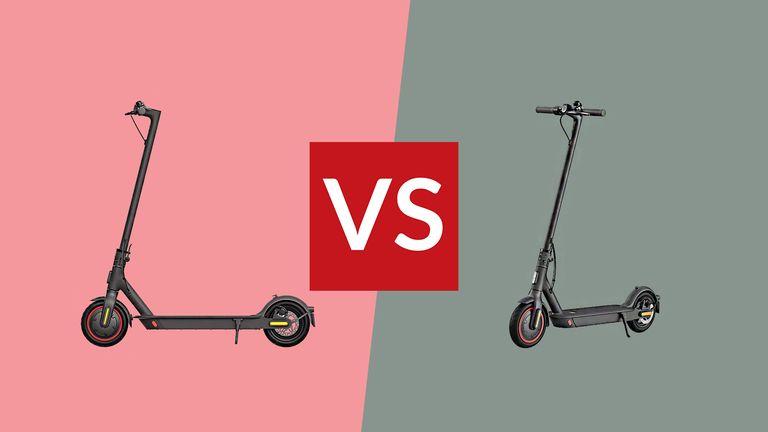 Xiaomi M365 Pro vs Xiaomi Pro 2 electric scooter