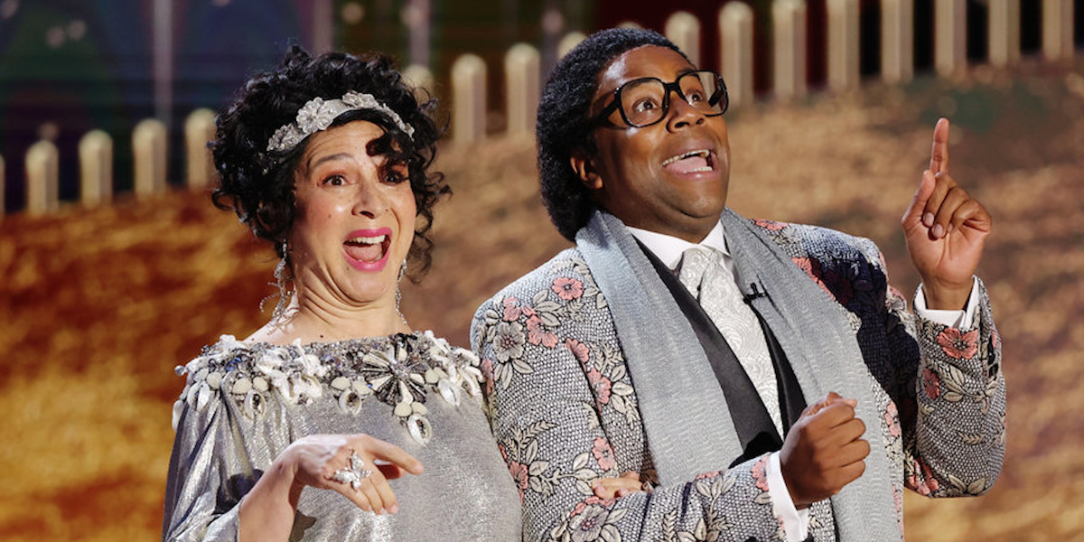 golden globe awards 2021 kenan thompson and maya rudolph