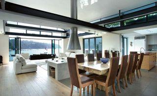 Open-plan interiors