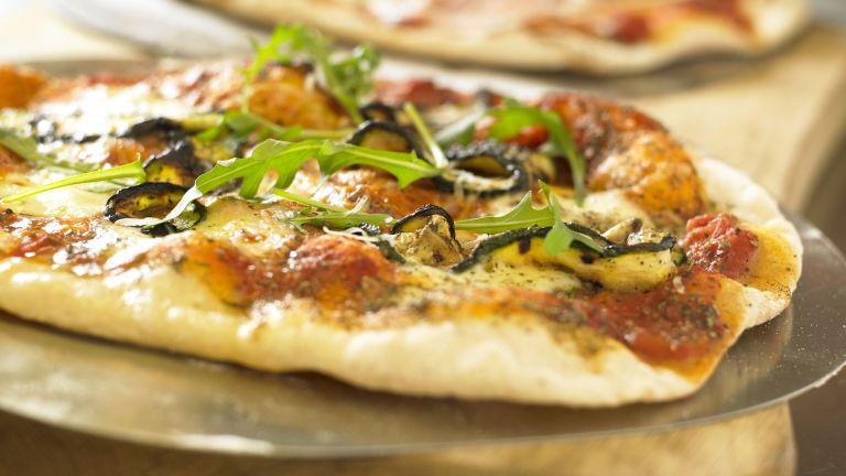Pizza recipe with Prosciutto and Wild Rocket