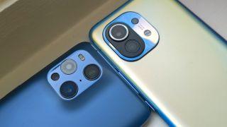 Oppo Find X3 Pro and Xiaomi Mi 11