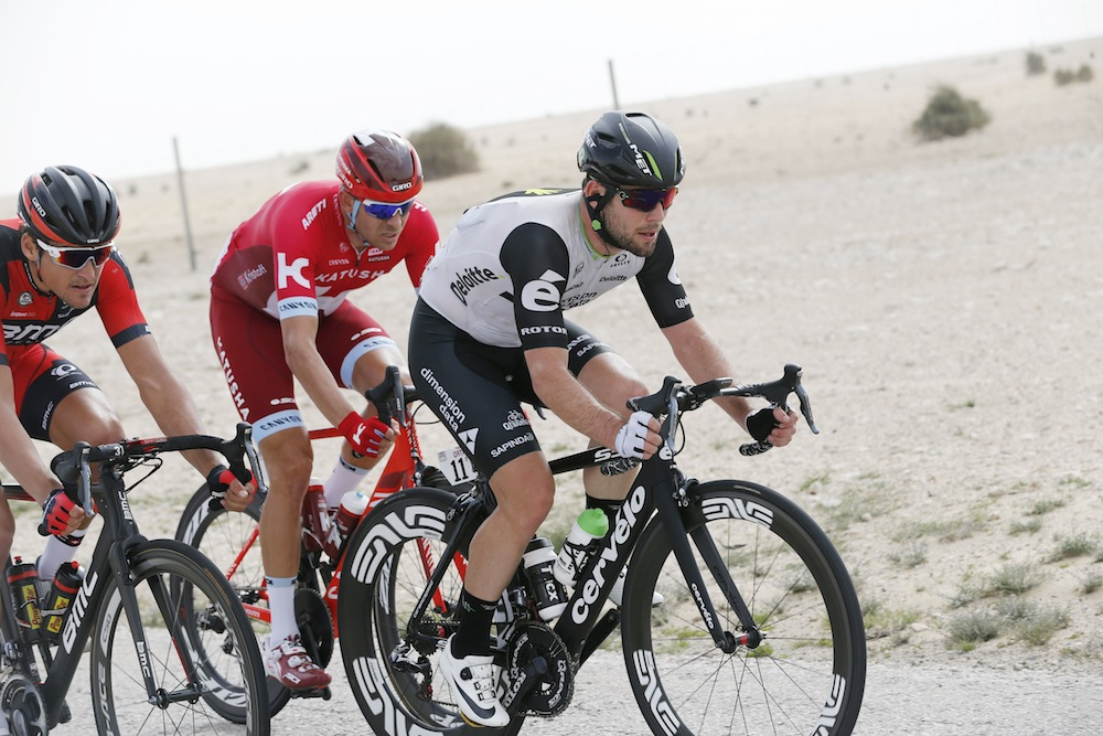 Strava Shows That Stage One At The Tour Of Qatar Was