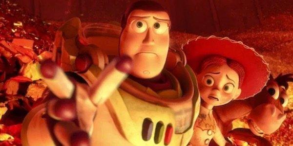 Buzz, Jessie, and Bullseye in Toy Story 3