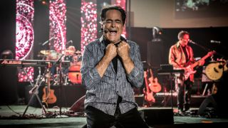 Neal Morse performing with Spock's Beard in 2016
