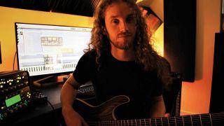 Tesseract in the studio