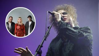 Robert Smith and Chvrches