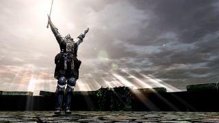 Dark Souls praise the sun gesture