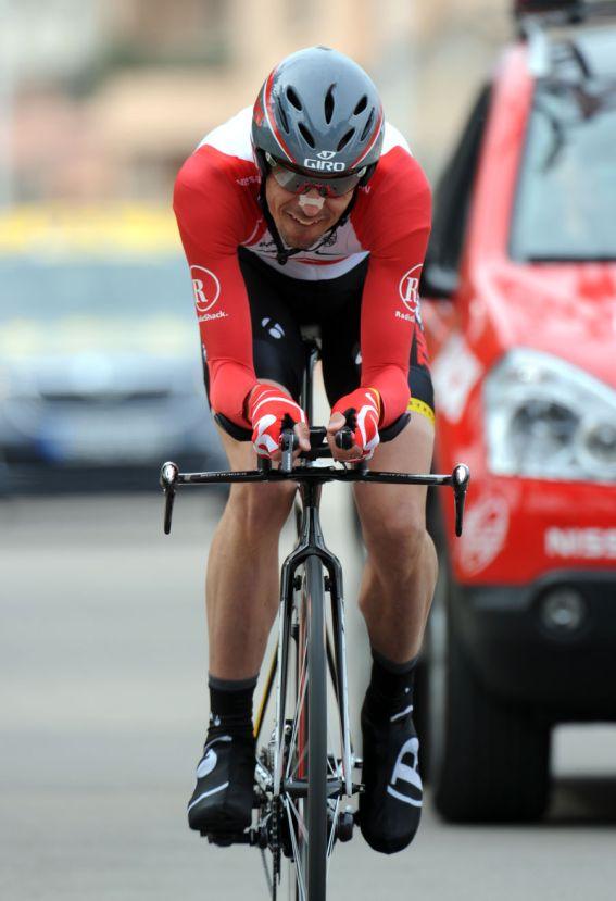 Andreas Kloden wins, Criterium International 2011, stage three TT
