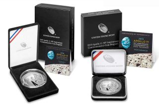 The United States Mint is concluding its Apollo 11 50th Anniversary Commemorative Coin program on Friday, Dec. 27, 2019. Over the course of a year, almost 600,000 of the coins were sold.