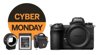 Cyber Monday mirrorless: Nikon Z6 + XQD card + mount adapter + bag for $1,696.95!