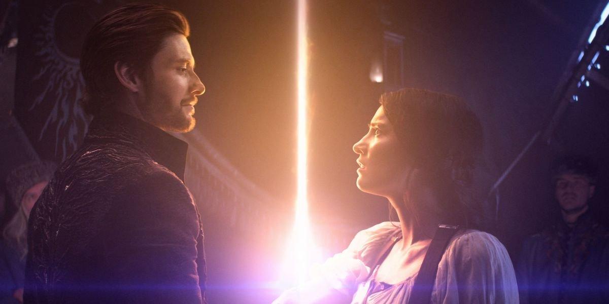 Ben Barnes and Jessie Mei Li as the Darkling and Alina in Shadow & Bone