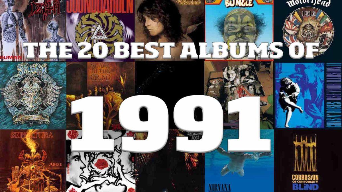 The Top 20 best metal albums of 1991