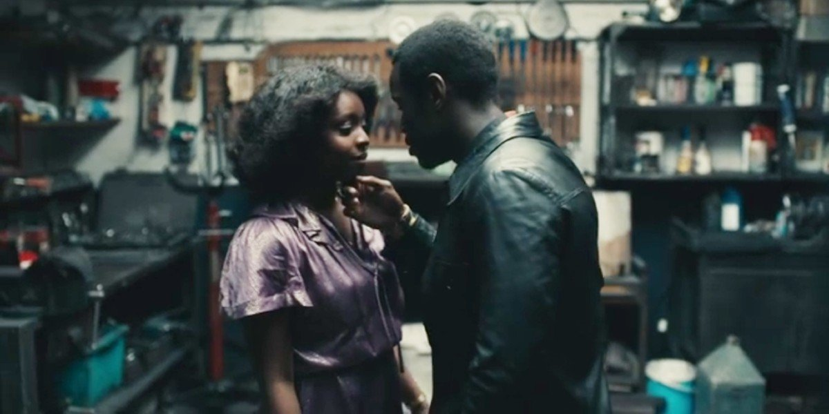Michael Ward and Amarah-Jae St. Aubyn in Small Axe: Lovers Rock