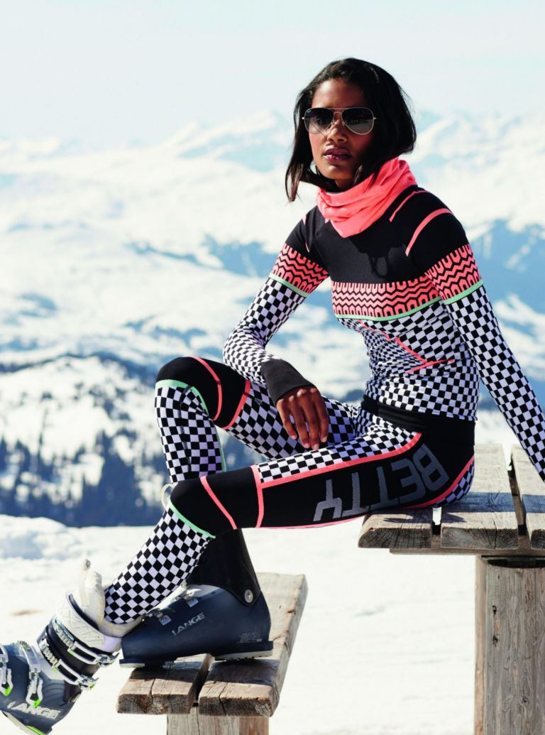 Sweaty Betty's awesome snow look for 2016