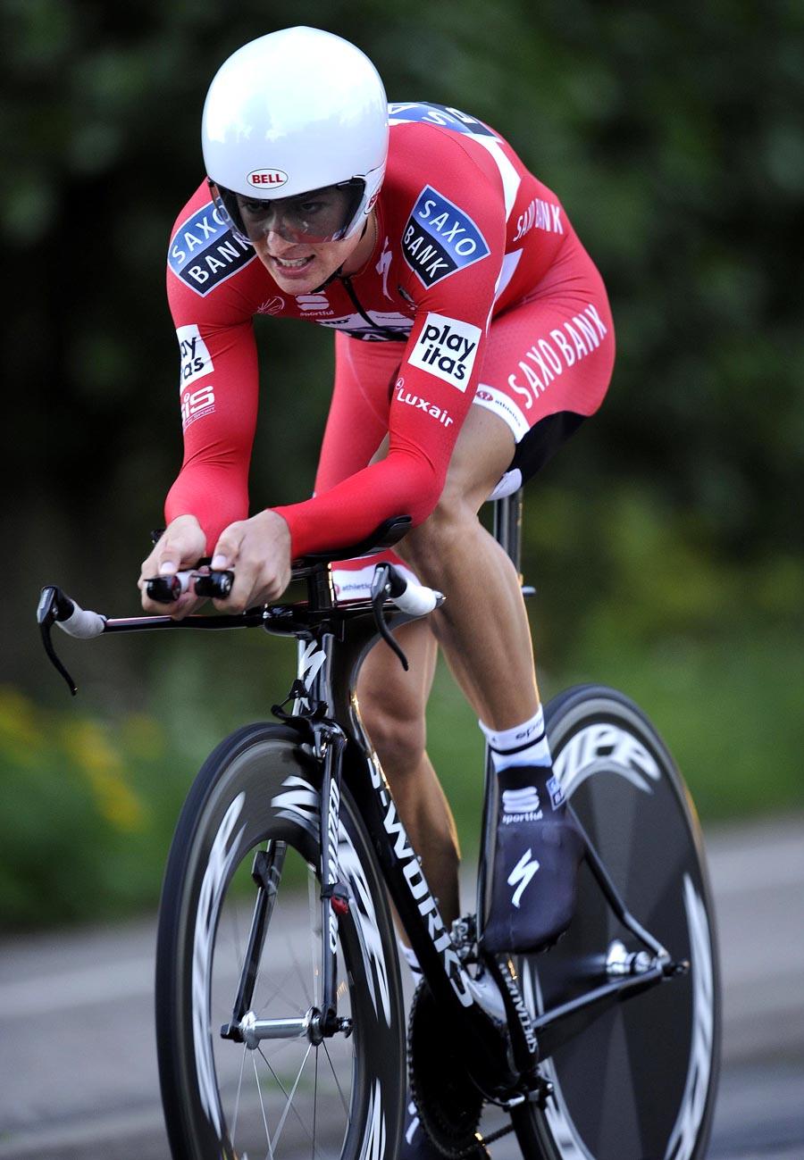 Jakob Fuglsang, Tour of Denmark 2010, stage 5 TT
