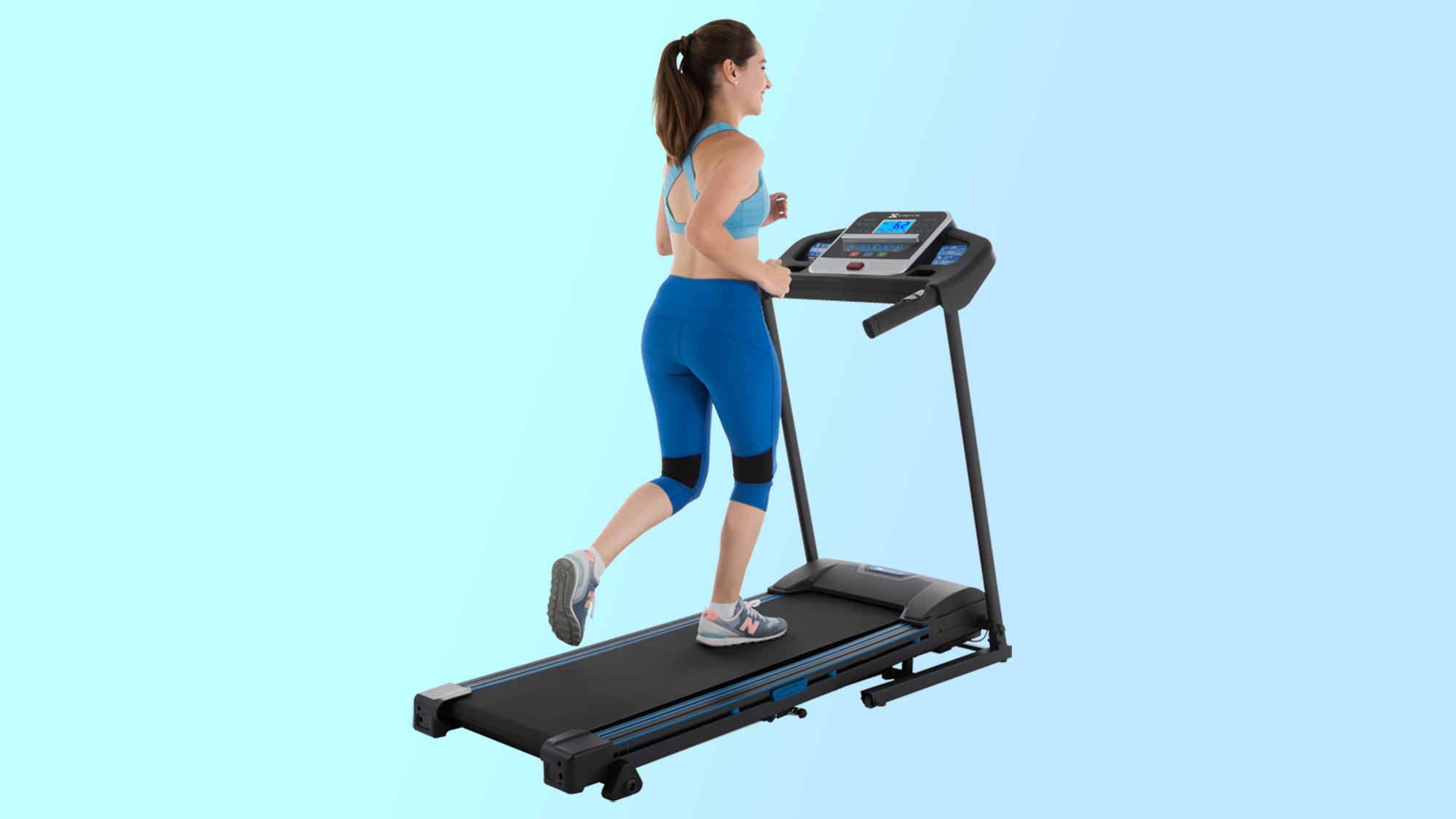 Best home gym equipment: Xterra Fitness TR200 Folding Treadmill