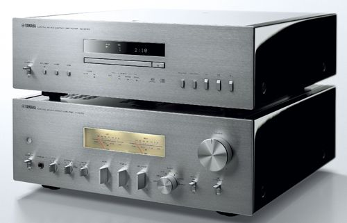 Yamaha unveils A-S2100 high-end Integrated Amp and CD-S2100