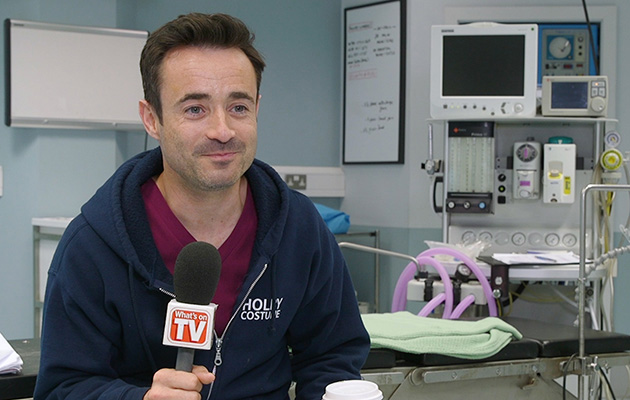 Holby's Joe McFadden: 'Essie's a good match for Raf. I'm looking forward to the clashes!' (VIDEO)
