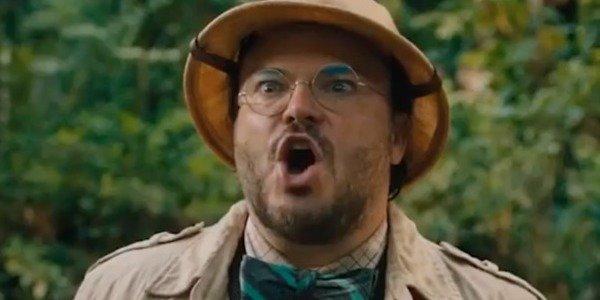 Jack Black in Jumanji: Welcome to the Jungle