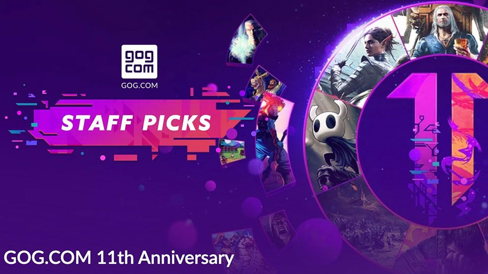 Some of the best PC games ever get giant price cuts for GOG's 11th anniversary sale