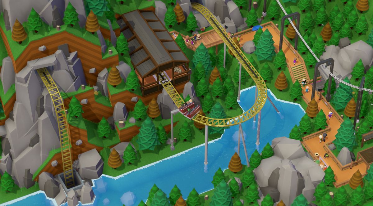Theme park sim Parkitect is leaving Early Access