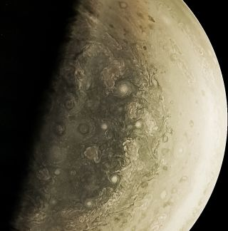 Swirling Storms jupiter