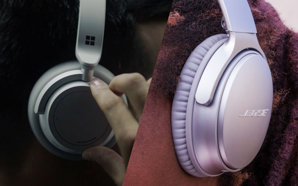 Bose QuietComfort35 II vs. Microsoft Surface Headphones: Face-Off
