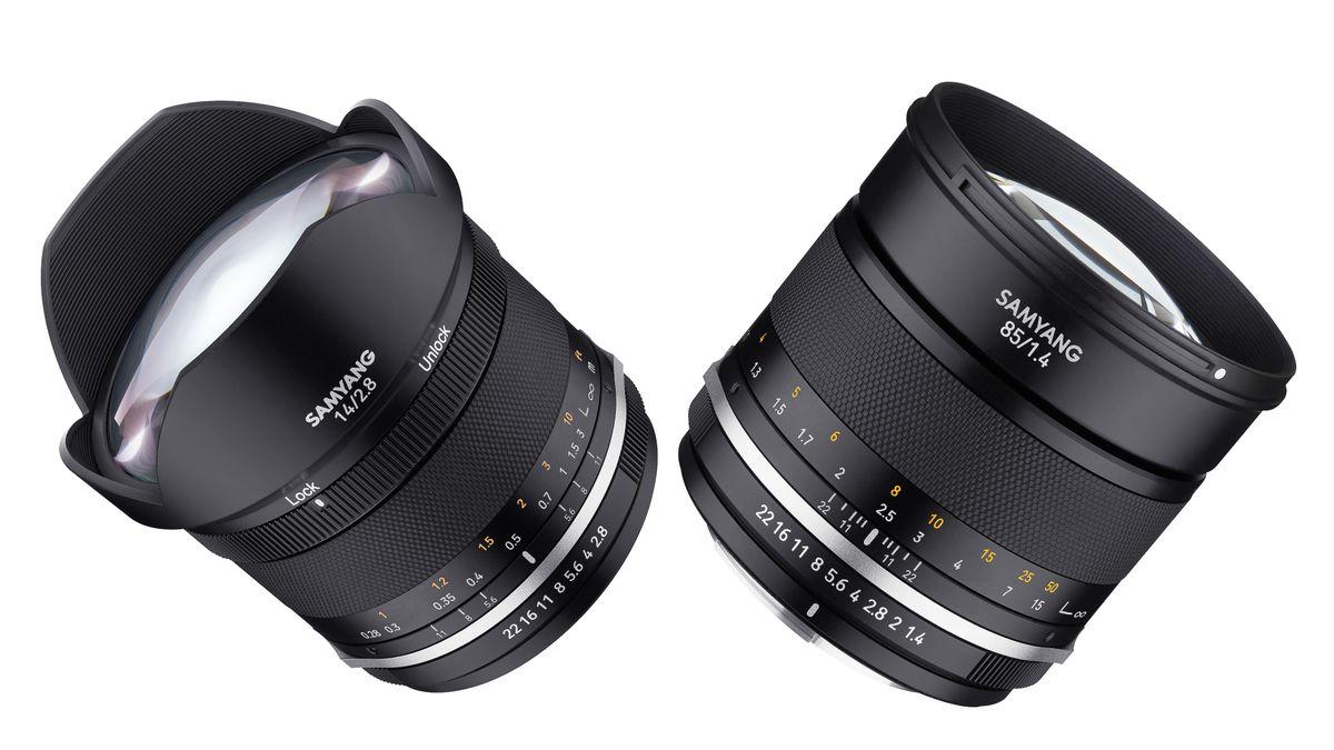 Samyang reboots 85mm f/1.4 and 14mm f/2.8 MF lenses to go big on bokeh - Digital Camera World