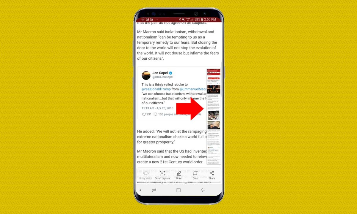 How to Take a Screenshot on the Galaxy S9 - Galaxy S9 User